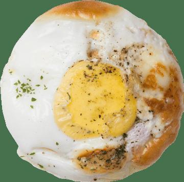ベーコン自然卵エッグ